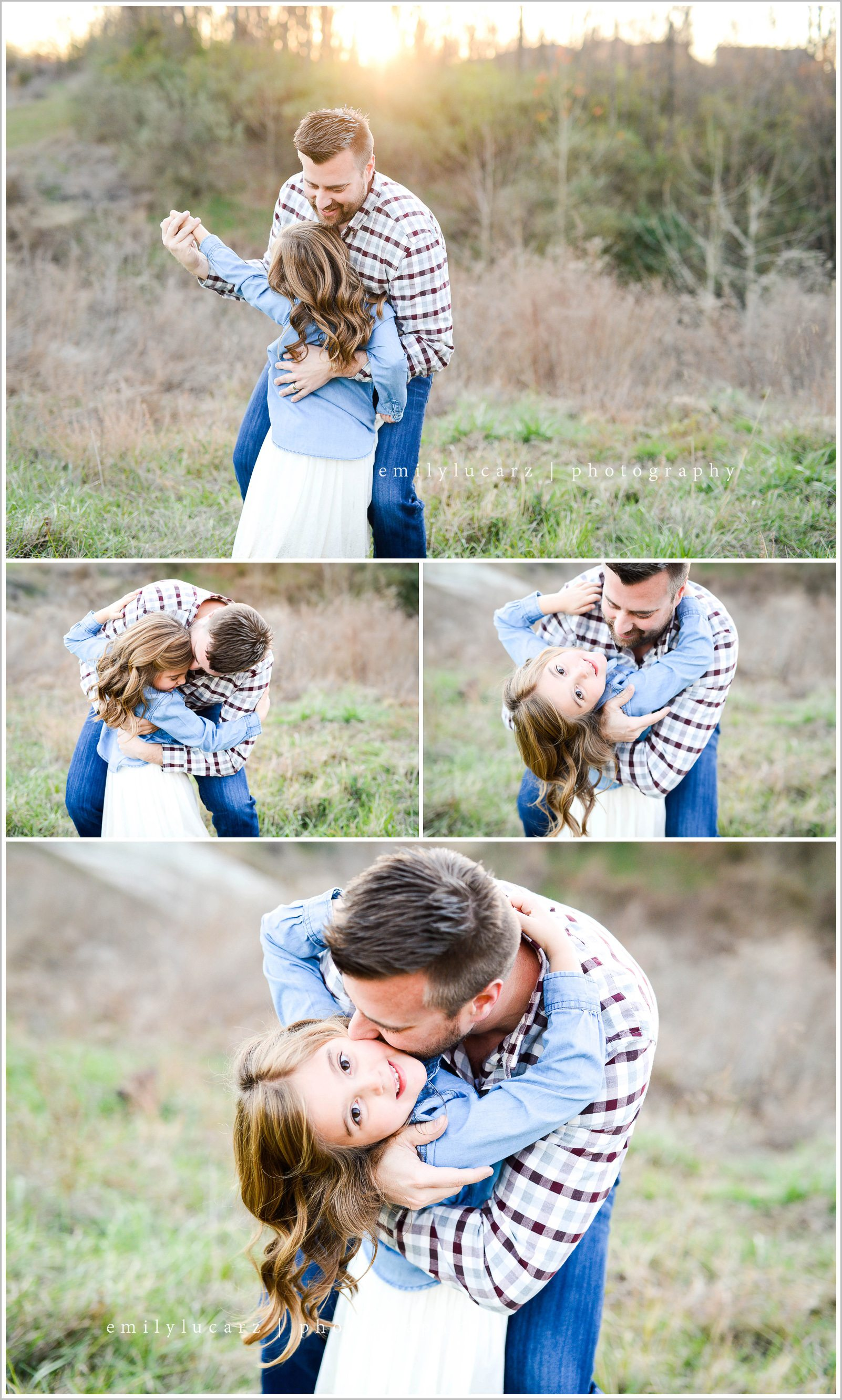 dad and daughter photo shoot ideas